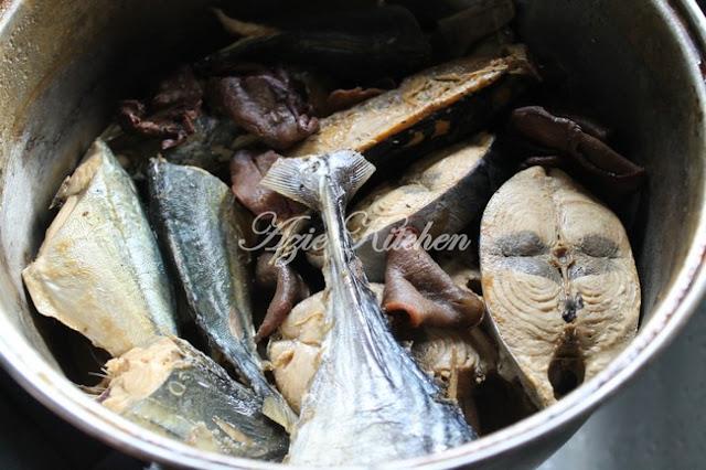 Ikan Rebus Goreng
