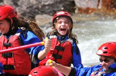 Finding Joy Around Us Royal Gorge Rafting With American