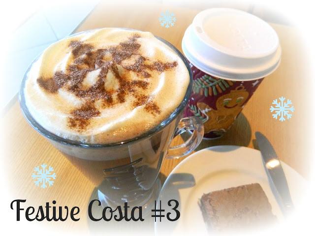 Christmas Costa Drinks