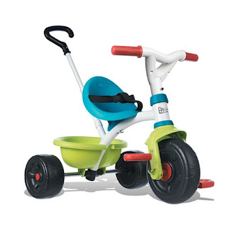 Smoby Be Move driewieler met duwstang