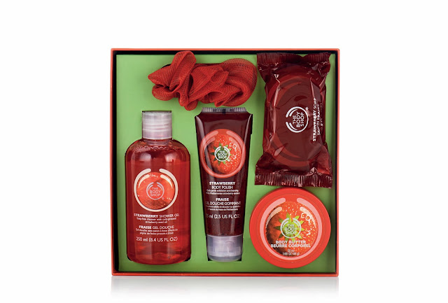 Strawberry Box_The Body Shop