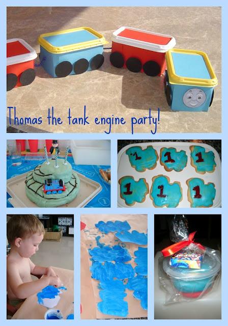 Thomas the Tank engine train party