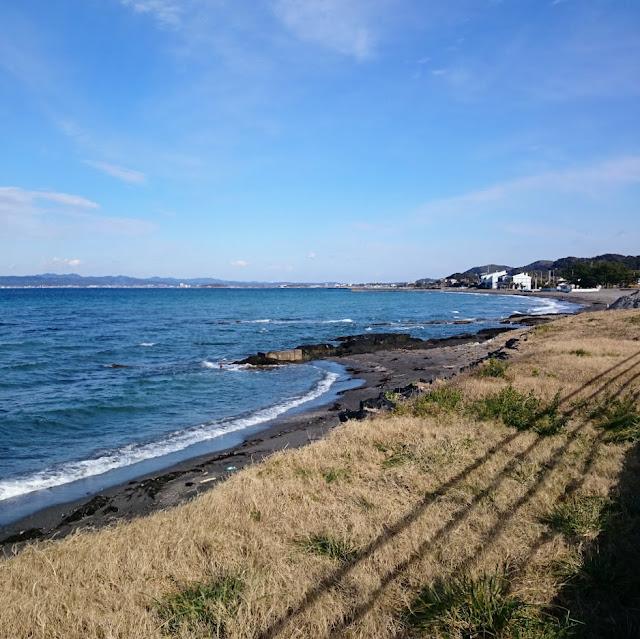 房総フラワーライン 西岬海水浴場