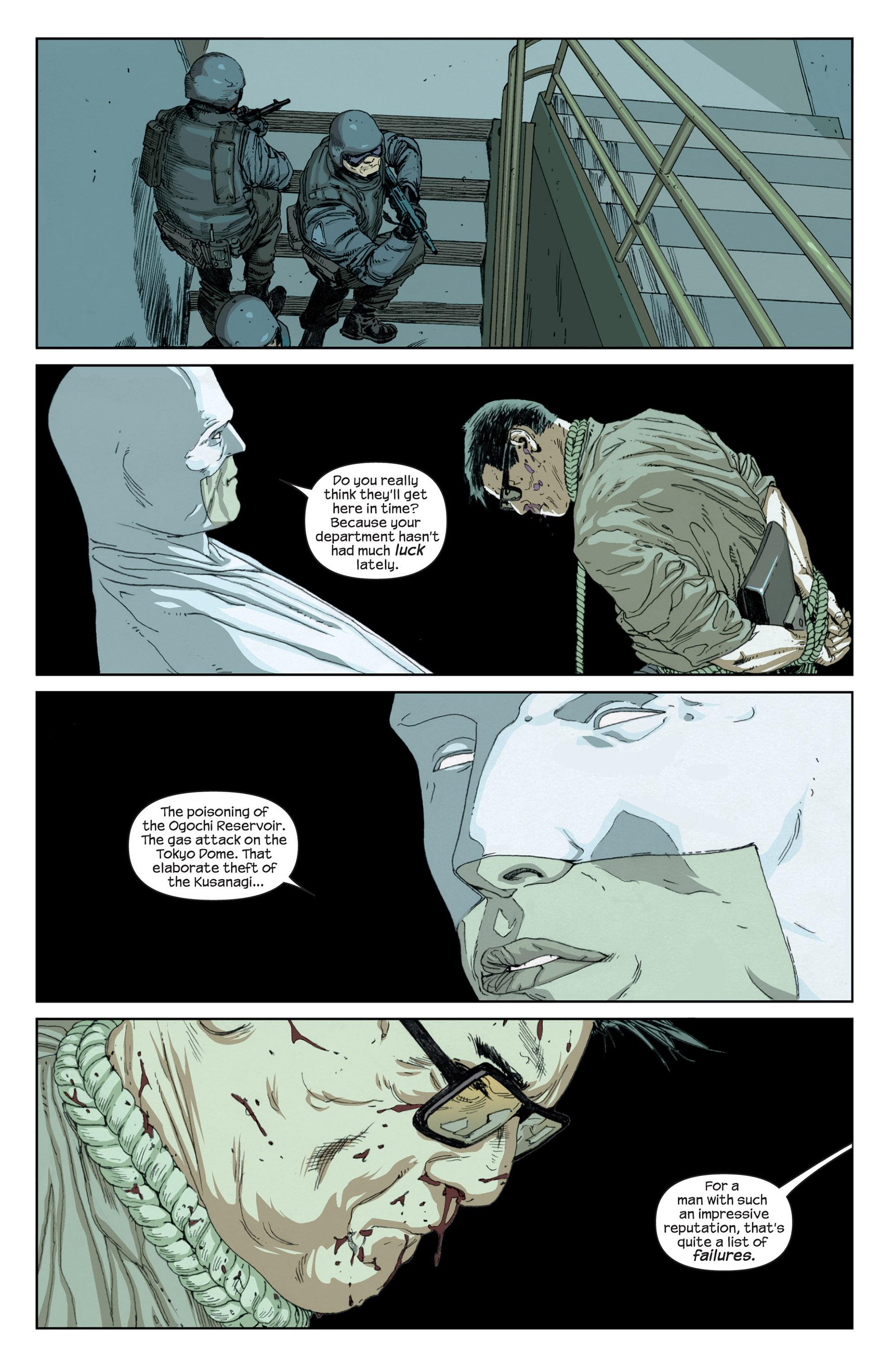Read online Millar & McNiven's Nemesis comic -  Issue #1 - 5