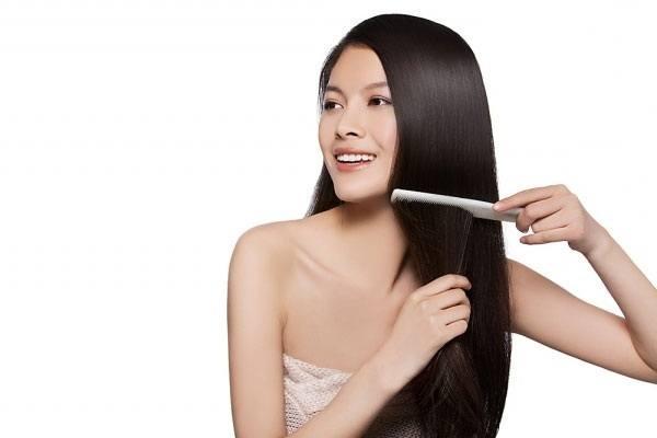 cách chăm sóc tóc nối đơn giản
