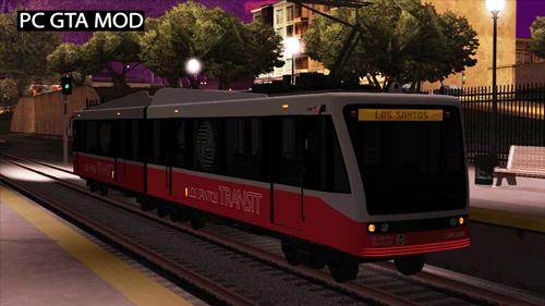 Free Download GTA V Metro Train Mod for GTA San Andreas.