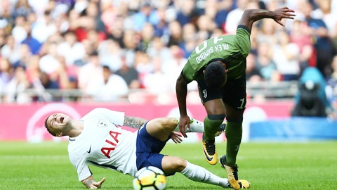 Trippier dính chấn thương trong trận giao hữu với Juventus