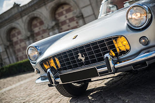 1960 Ferrari 250 GT Coupe Car Headlights