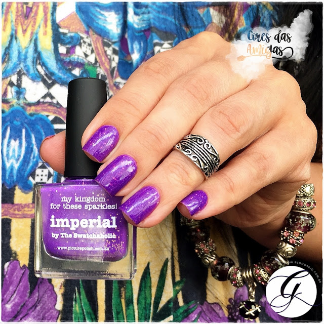 Esmalte Nailpolish Imperial Picture Polish Ulta Violet Pantone