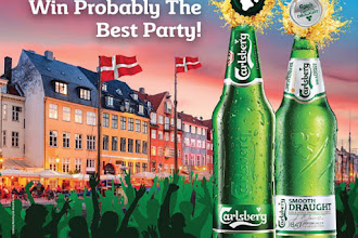 Win an All-expense Paid Trip to Copenhagen or Host 'Probably The Best Party' of Your Choice All on Carlsberg