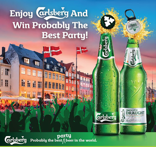 Win an All-expense Paid Trip to Copenhagen or Host 'Probably The Best Party' of Your Choice All on Carlsberg - CleverMunkey | Events. Food. Gadget. Lifestyle. Travel.