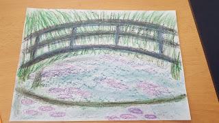PippaD and Dan Jon's interpretation of a Monet