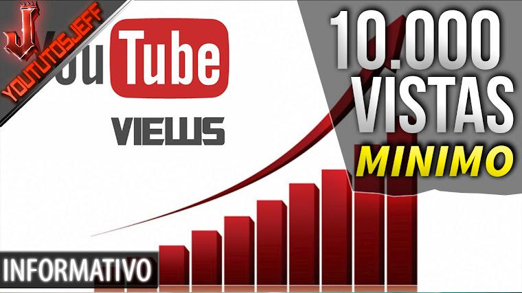 Youtubers con menos de 10 mil vistas no podrán monetizar su contenido