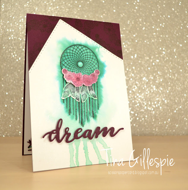 scissorspapercard, Stampin' Up!, Art With Heart, Colour Creations, Follow Your Dreams, Chase Your Dreams Framelits