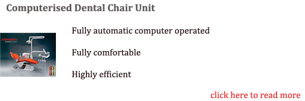Computerised Dental Chair Unit