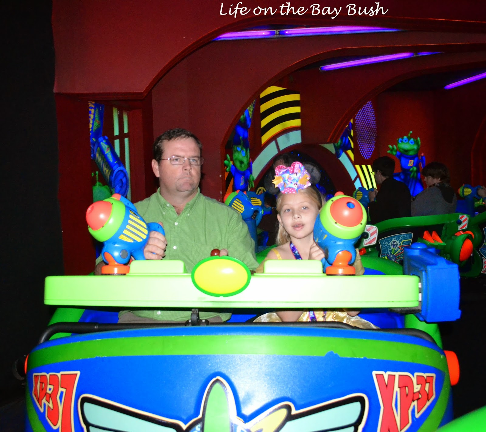Disney's Magic Kingdom Buzz Lightyear ride