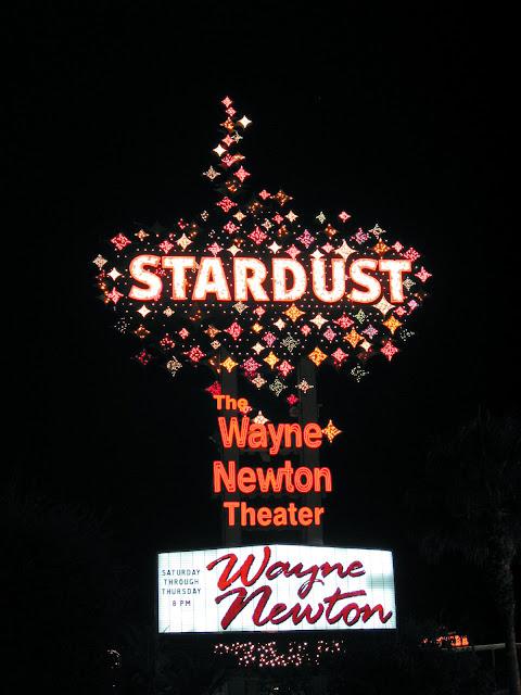 Stardust Sign Wayne Newton