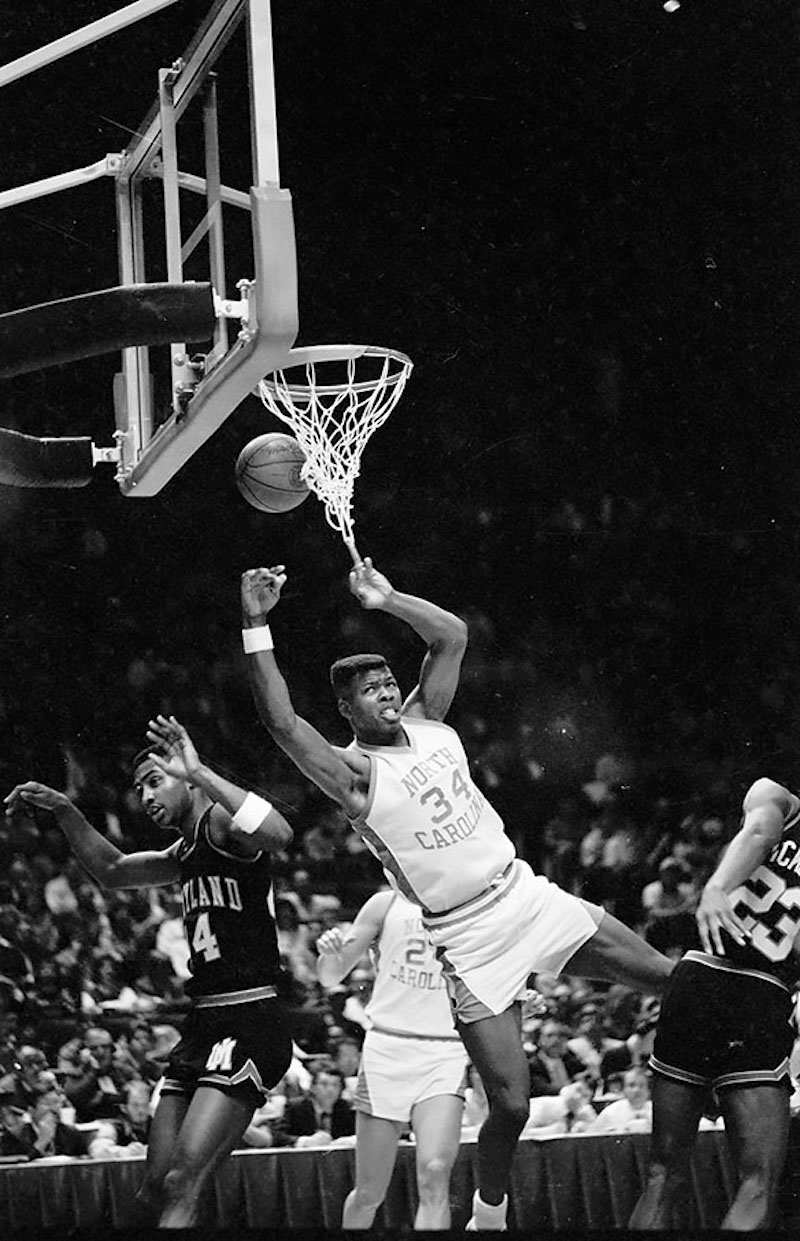 1987 ACC Tournament North Carolina v Maryland Photo by Hugh Morton