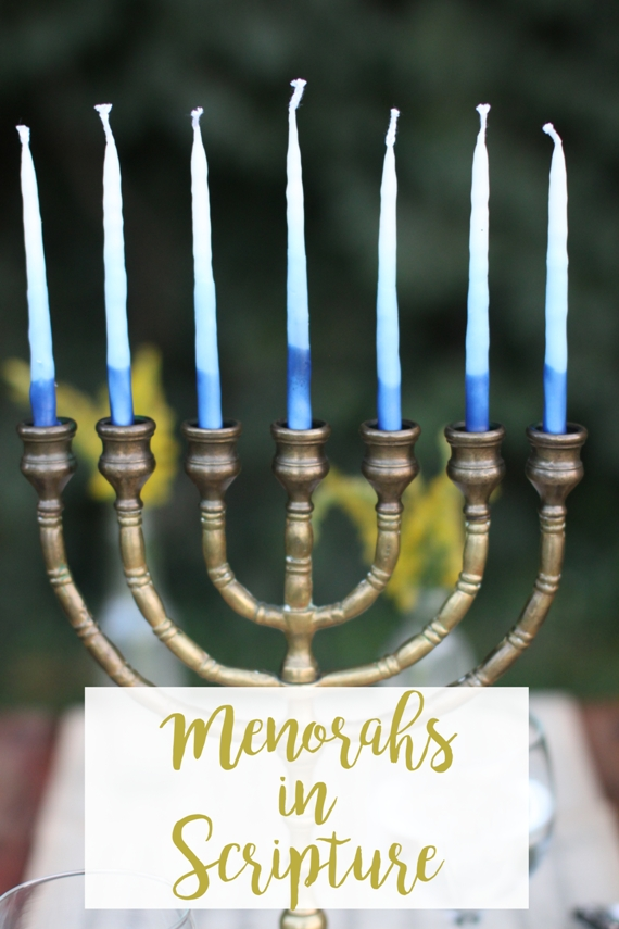 Where We See Menorahs in Scripture