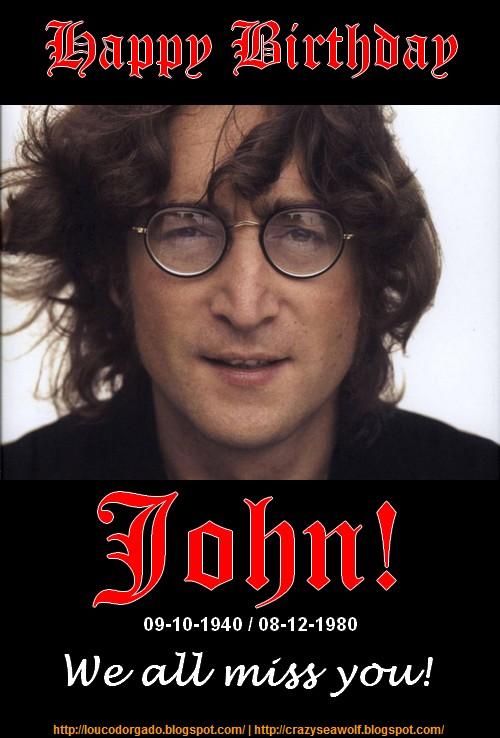 John Lennon's birthday