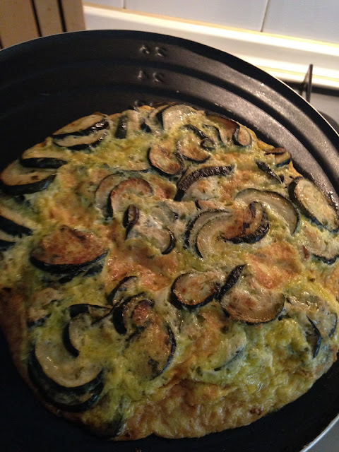 Frittata di Zuchini (Tortilla de calabacín)