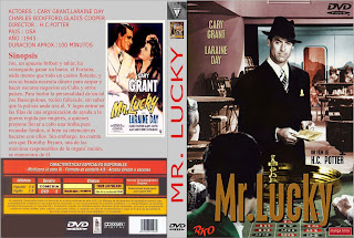 Carátula: Mr. Lucky (1943) (Cary Grant)