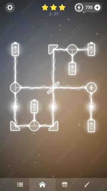 Laser Overload [Beginner] Level 2-21 Solution, Walkthrough, Cheats