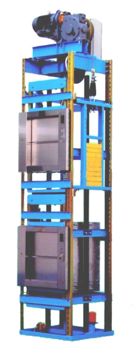 Industrial electric dumbwaiter to make transporting easy for Exterior dumbwaiter