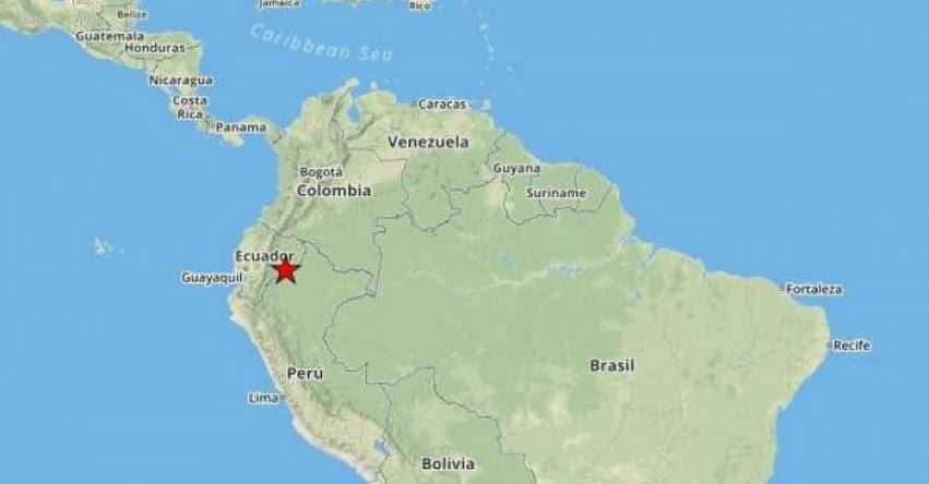 No hay alerta de tsumani tras potente sismo en Ecuador de Magnitud 7.7