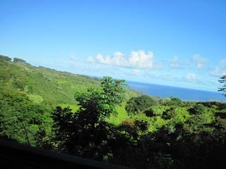 The Maui Coastline.