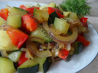 Warzywa duszone z kurkumą