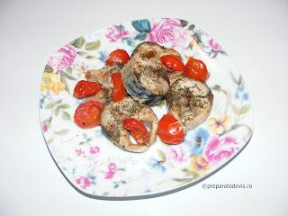 Macrou cu rosii cherry si usturoi retete culinare,