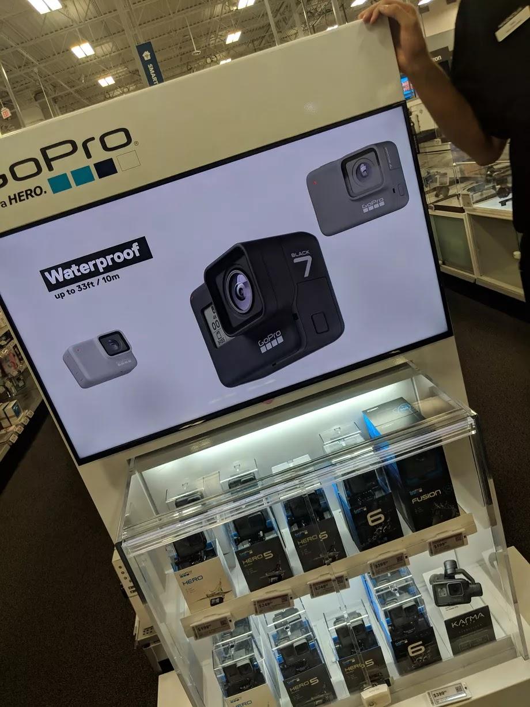 Три цвета GoPro Hero7