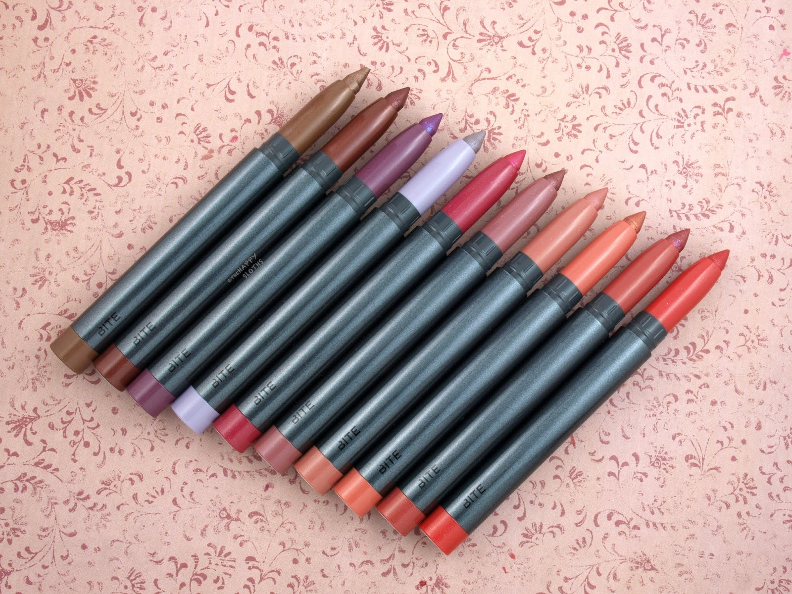 Bite Beauty | Crystal Crème Shimmer Lip Crayon: Review and Swatches