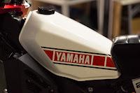 vintage yamaha gas tank design