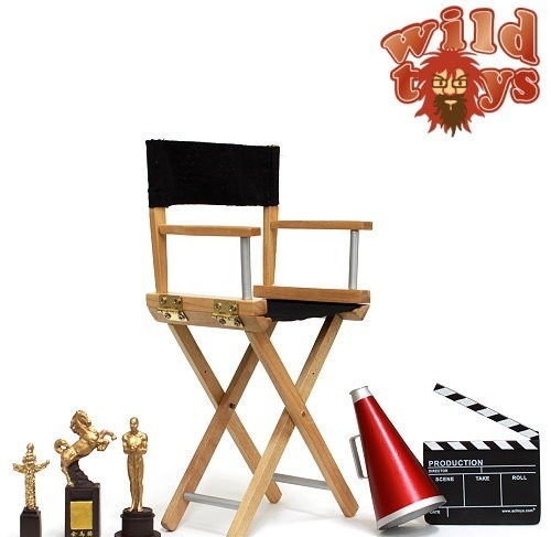 onesixthscalepictures: Wild Toys Director Chair Set ...