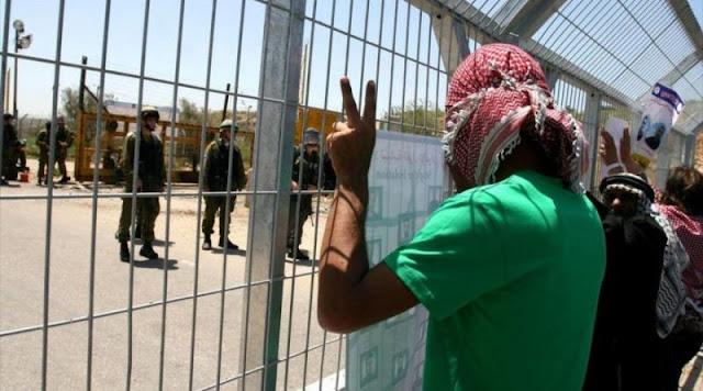 Paro general en Cisjordania en apoyo a presos políticos palestinos