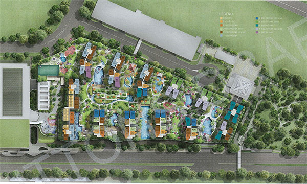 Northpark Residences Siteplan