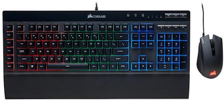 Corsair K55 + Harpoon RGB