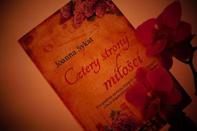 """""""Cztery strony miłości"""" Joanna Sykat"""