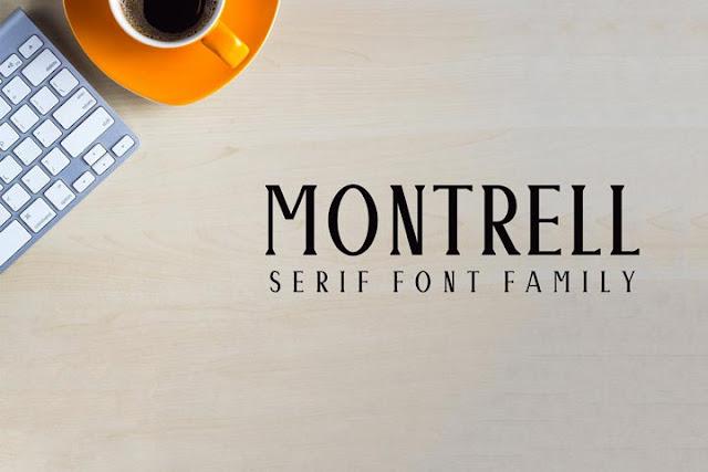 Download Montrell Serif Font Family Pack - TÜRKÇE | GRAFİK MARKET ...