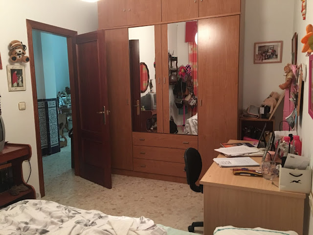 Antes de un dormitorio