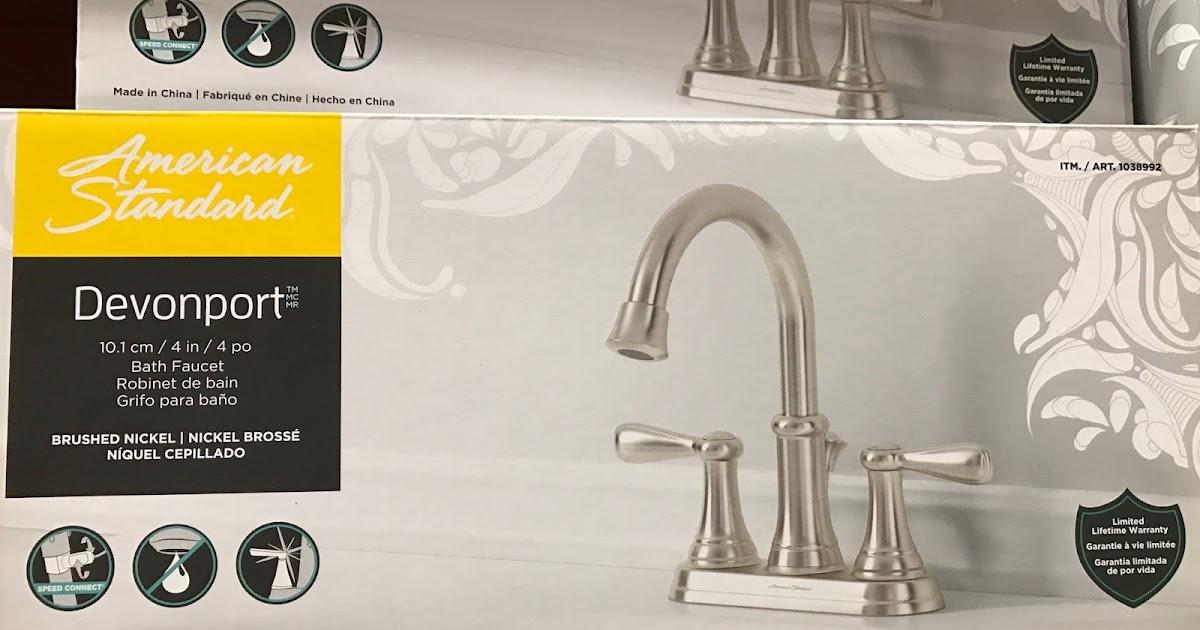 American Standard Devonport Bath Faucet Costco Weekender