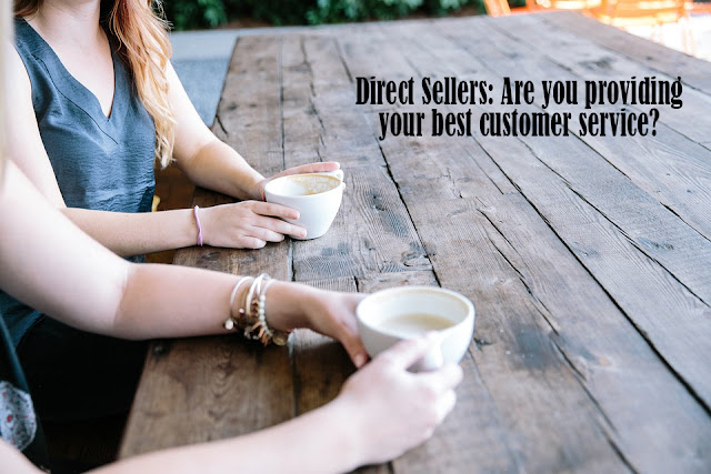 how are your direct sales customer service skills?