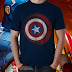 Download free file microstock vector t-shirt captain america