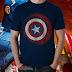 Download free file microstock vector t-shirt captain america