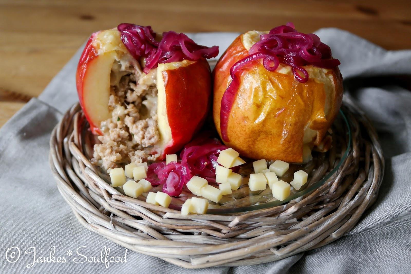 Herzhafter Bratapfel von Jankes Soulfood