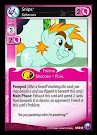 My Little Pony Snips, Schemer Canterlot Nights CCG Card