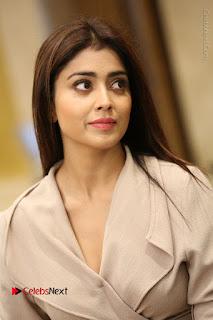 Actress Shriya Saran Stills in Stylish Dress at Gautamiputra Satakarni Team Press Meet  0058.JPG