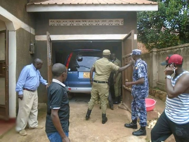 Kampala notorious car thieves netted by police